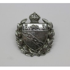 Norfolk Constabulary Collar Badge - King's Crown