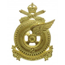 Canadian 2nd Armoured Car Regiment Cap Badge
