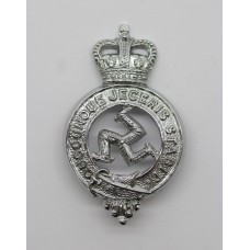 Isle of Man Constabulary Collar Badge - Queen's Crown