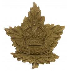 Canadian WW2 Canada General Overseas Service Cap Badge