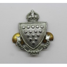Cornwall Constabulary Collar Badge - King's Crown