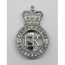 Lincolnshire Constabulary Cap Badge - Queen's Crown