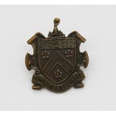Dulwich College O.T.C. Cap Badge