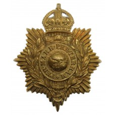 Royal Marines Helmet Plate -King's Crown