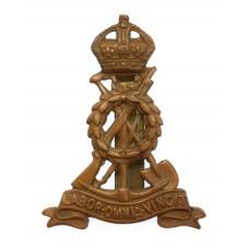 Pioneer Corps Cap Badge - King's Crown