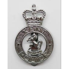 Kent Police Cap Badge - Queen's Crown