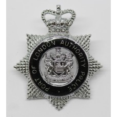 Port of London Authority Police Senior Officer's Cap Badge - Queen's Crown