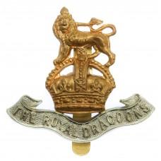 The Royal Dragoons Cap Badge - King's Crown