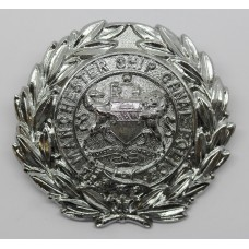 Manchester Ship Canal Police Helmet Plate