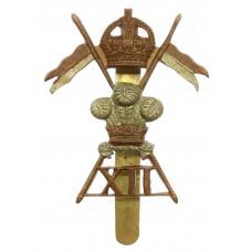 12th Royal Lancers Cap Badge - King's Crown