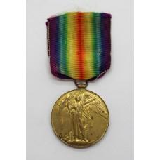 WW1 Victory Medal - Pte. J. Chapman, West Yorkshire Regiment