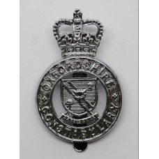 Oxfordshire Constabulary Cap Badge - Queen's Crown