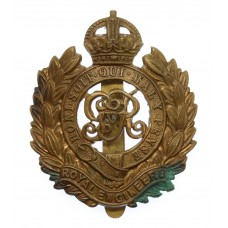 George V Royal Engineers Cap Badge