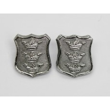 Pair of Hull City Police Collar Badges