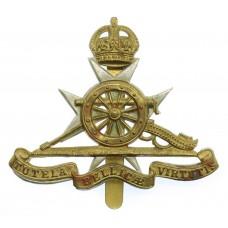 Royal Malta Artillery Cap Badge - King's Crown
