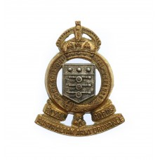 Royal Australian Army Ordnance Corps Officers Dress Collar Badge - King's Crown