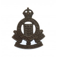Royal Canadian Army Ordnance Corps Officers Service Dress Collar Badge