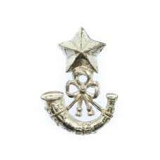 The Cameronians (Scottish Rifles) Officers Silver Collar Badge