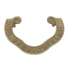 Victorian 2nd Warwickshire Militia Forage Cap Badge