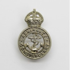 Admiralty Constabulary Collar Badge - King's Crown
