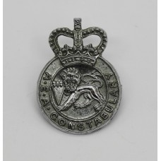 United Kingdom Atomic Energy Authority (U.K.A.E.A.) Constabulary Collar Badge - Queen's Crown