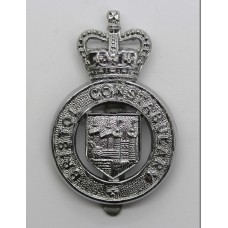 Bristol Constabulary Cap Badge - Queen's Crown