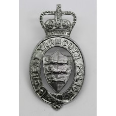 Great Yarmouth Police Cap Badge - Queen's Crown