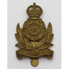 Intelligence Corps Cap Badge - King's Crown
