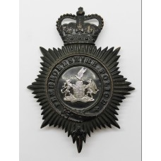 Pembrokeshire Police Night Helmet Plate - Queen's Crown