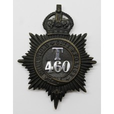 Sheffield City Police Night Helmet Plate (T 460) - King's Crown