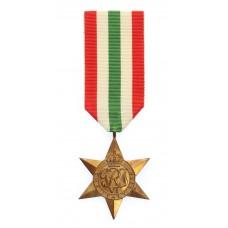 WW2 Italy Star Medal - Full Size