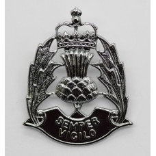 Scottish Police Forces Cap Badge - Queen's Crown
