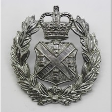 Plymouth City Police Cap Badge - Queen's Crown