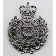 Preston Borough Police Cap Badge - Queen's Crown