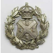 Plymouth City Police Cap Badge - King's Crown