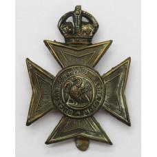 Buckinghamshire Battalion Cap Badge - King's Crown