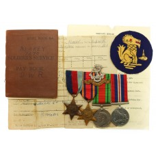WW2 Chindits Medal Group of Four - Pte. C. Blakey, 2nd Bn. Duke of Wellington's (West Riding) Regiment