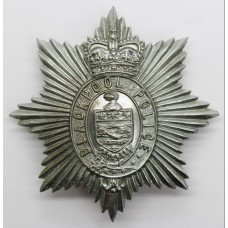 Blackpool Police Helmet Plate - Queen's Crown