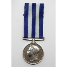 Egypt Medal 1882 - Gnr. H.E. Newton, Royal Marine Artillery - Killed in Action at Kassassin