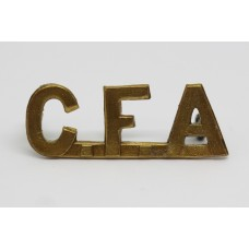 Canadian Field Artillery (C.F.A.) Shoulder Title