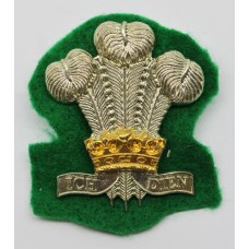 Royal Regiment of Wales Bi-Metal Cap Badge