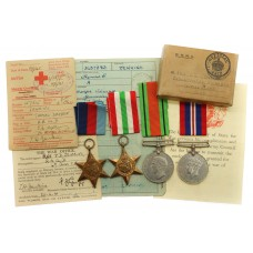 WW2 Medal Group of Four - The Rev. T.D. Jenkins, Royal Army Chaplains Department