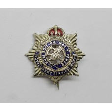 George VI Royal Army Service Corps (R.A.S.C.) Enamelled Sweetheart Brooch