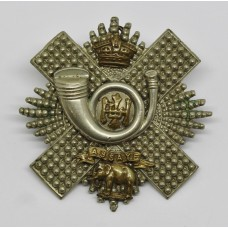 Victorian Highland Light Infantry (H.L.I.) Officer's Cap Badge