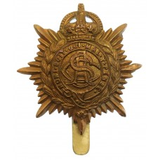 Army Service Corps (A.S.C.) WW1 Economy Cap Badge (Non Voided Centre)
