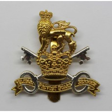 Military Provost Guard Service Cap Badge - Queen's Crown