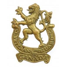 Canadian Veterans Guard of Canada Cap Badge