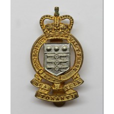 Royal Army Ordnance Corps (R.A.O.C.) Cap Badge - Queen's Crown