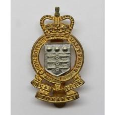 Royal Army Ordnance Corps (R.A.O.C.) Cap Badge - Queen's Crown