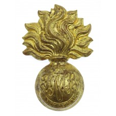 Canadian Les Fusiliers Mont Royal Cap Badge - King's Crown